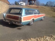 '66 Ford Country Squire Woody Station Wagon