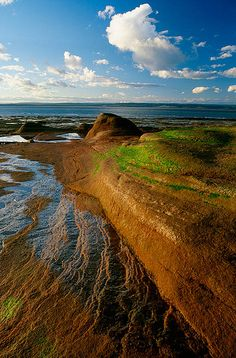 Beautiful photo of nearby Burncoat Head, Nova Scotia on the Bay of Fundy.