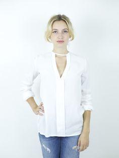abbigliamento donna - vendita - vestiti - abiti - camicia - jeans - shopping - bianco - catalogo - blusa