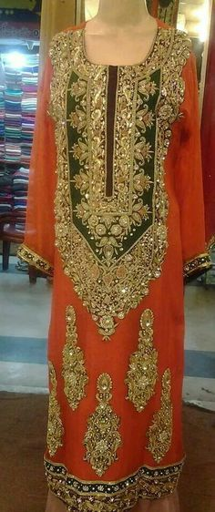 Pakistani Bridal Embroided
