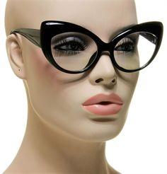 Womens Black Wayfarer Retro Eyeglasses Clear Lenses Thick Frame - Google Search great for sunglasses