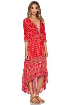 Spell & The Gypsy Collective Gypsiana Maxi Dress in Red Bandana | REVOLVE - website has many cute things