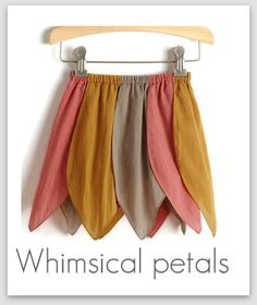 Elastic Waisted Skirts (Petal Skirt Shown)