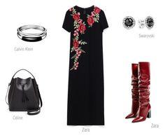 THE DRESS 2 by ireneconcello on Polyvore featuring Céline Lefébure, Calvin Klein and Pandora