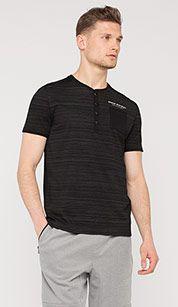 T-shirt in zwart