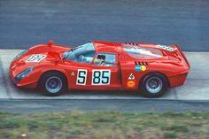 Alfa Romeo Tipo 33/2  Nanni Galli and Ignazio Giunti at the 1969 Nurburgring 1000k race.