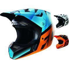 Fox Racing V3 Shiv w/MIPS Mens Dirt Bike Off Road Motocross Helmets