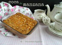 Coca de Manzana Coco, Pudding, Desserts, Donut Holes, Fairy Cakes, Crack Cake, Pies, Tailgate Desserts, Deserts