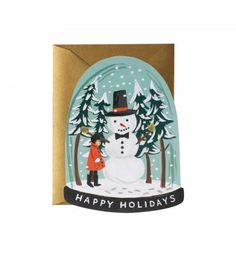 The Southern C   Rifle Paper Co. - Snow Globe #thesouthernc #riflepaperco