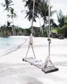"""DUNI ♥ Designer & Blogger. on Instagram: """"Throwback to Koh Kood and those wonderful beach swings, which I fell in love with ✨ We've got only two days left in Chiang Mai  on…"""""""