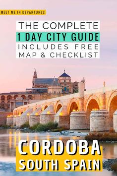 Seville to Cordoba Guide | Córdoba | Crodoba Travel Guide | Visiting Cordoba, Spain | Visit Cordoba| One day in Cordoba Itinerary | Day Trips From Seville | Southern Spain | Things to do in Cordoba | What to see in Cordoba | Two Days in Cordoba | Cordoba Aesthetic | Cordoba Mosque | Great Mosque of Cordoba | Mezquita de Cordoba | Mosque-Cathedral Cordoba | Patios de Cordoba | Cordoba Alcazar | #Spain #Cordoba #Andalucia Europe Travel Tips, European Travel, Places To Travel, Travel Guide, Andalusia Travel, Spain Travel, One Day Trip, Day Trips, Beautiful Places In The World