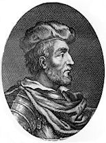 Duncan I, King of Scotland, died 1040,grandson of Malcom II.  Married to Sybilla of Northumbria ,parents of  Malcom III. _____________________________30th,31st and 32nd  Great Grandfather