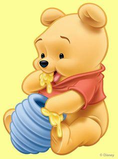 """Baby Winnie the Pooh Eating Honey. """"Winnie the Pooh and Friends"""" Disney Winnie The Pooh, Winnie The Pooh Drawing, Winnie The Pooh Pictures, Winne The Pooh, Disney Phone Wallpaper, Wallpaper Iphone Cute, Trendy Wallpaper, Pooh Bebe, Disneyland"""