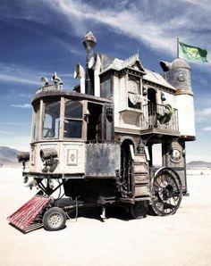 Victorian House On Wheels!