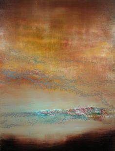 "Saatchi Online Artist Maurice Sapiro; Painting, ""Blue Cloud 2"" #art"