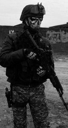 Ghost soldier/Mercenary