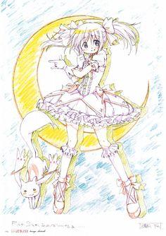 Puella Magi Madoka Magica, Puella Magi Madoka Magica - KEY ANIMATION NOTE EXTRA, Kyubey, Madoka Kaname
