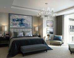 dreamy watercolor bedroom