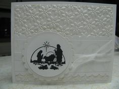 mojo117 - mostly white nativity by jennae - Cards and Paper Crafts at Splitcoaststampers