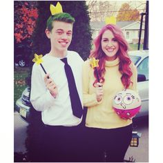 Cosmo and Wanda Halloween Costume                                                                                                                                                     More