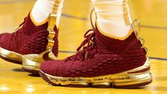 3fa23ff2631e  SoleWatch   KingJames  Nike LeBron 15 PE for Game 2 of the  NBAFinals .