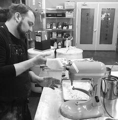 Chef Alan making fresh pasta || Foxtail Catering & Events