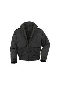 Water Repellent Duty Black Jacket With Liner ! Buy Now at gorillasurplus.com