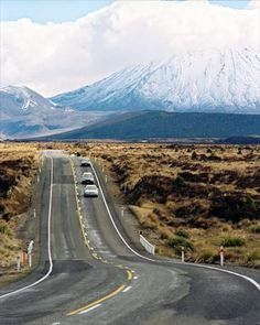 The ominous sounding 'Desert Road' is basically the rugged part of State Highway 1 http://www.freedomtourism.com/Desert-Road-location-newzealand