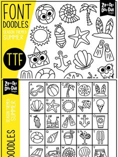 Doodle Fonts, My Doodle, Font Design, Graphic Design, Typography Design, Alphabet, Lettering, How To Draw Hands, Stationery