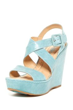 Crown Kathrin Wedge Sandal from HauteLook on shop.CatalogSpree.com, your personal digital mall.