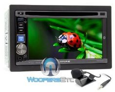 "IVE-W530 - Alpine In-Dash 6.1"" DVD / MP3 / WMA / AAC Receiver with Bluetooth by Alpine. $429.99"