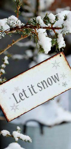 <3 Let It Snow