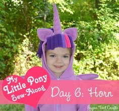 My Little Pony Costume Sew-Along - Day 6: Unicorn Horn