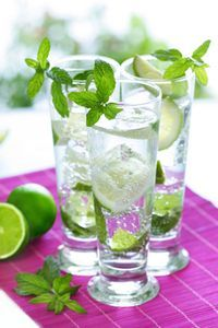 Virgin Mojito - I love Mojitos and since i don't drink anymore. ... Yum!