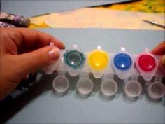 Ciao ragazze Con questo video vi mostrerò quello ke ho imparato sui pennelli e le sfumature x nail art in micropittura e colori acrilici...questo video è stato diviso in 2 parti essendo troppo lungo...nella 2° parte potrete vedere come realizzare una rosa...!!!!  Spero vi piaccia e che sono riuscita a spiegare i passaggi nel miglior dei modi!!!!!...