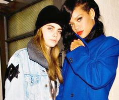 Rihanna street style fashion outfit 2012 candid x cara delevigne