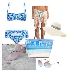 """""""Beach please"""" by destinyj77 ❤ liked on Polyvore"""