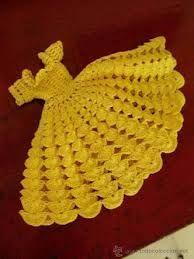 """Résultat de recherche d'images pour """"ropa de barbie tejida a crochet grafico"""""""