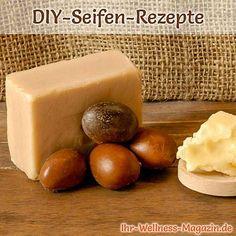 Seife herstellen - Sheabutter-Seife selber machen
