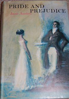 Pride & Prejudice  Jane Austen by VintageTranscendence on Etsy, $35.00