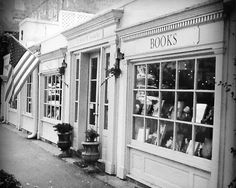 E. Shaver, Bookseller's storefront in downtown Savannah