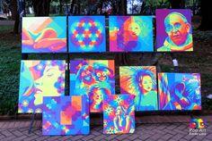 Pop Art Fredo Lima: Exposição na Feira de Artes Plásticas da Praça da ...
