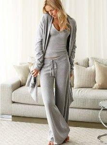 Cotton & cashmere...perfect for long haul flights!