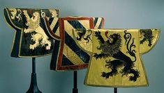 Heraldic tabards of the Duke of Burgundy C15th.