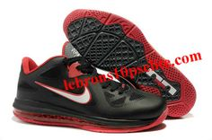 Nike Zoom LeBron 9 Low Black/Red