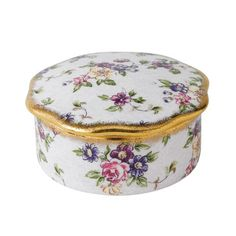 Royal Albert 100 Years Giftware 1940's English Chintz Trinket Box