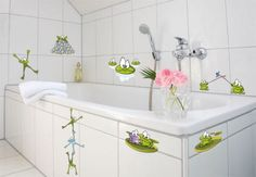 Wall Stickers - Frog Set
