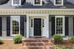 Front Entrance - Hunters Crossing - The Branches Neighborhood - 510 Hound Ridge Sandy Springs, GA Home For Sale by KAREN CANNON REALTORS #Dunwoody & #SandySprings Real Estate Experts! kc@karencannon.com Call Us Today at 770-352-9658 KarenCannon.com