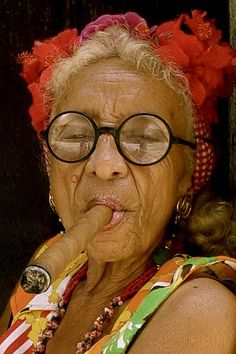 Granny Puretta of Havana.... http://www.pinterest.com/paul808ylee/smoking-hot-momma-granny-puretta/