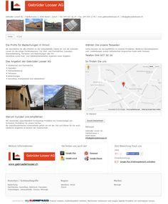 Gebrüder Looser AG, Dachdecker, Wetzikon, Gerüstbau, Fassaden, Solaranlagen